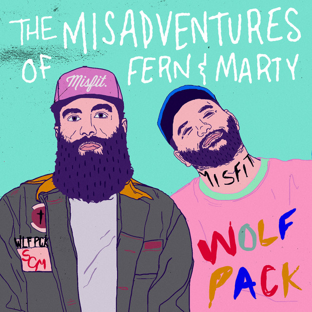 Album cover for The Misadventures Of Fern & Marty by Social Club Misfits