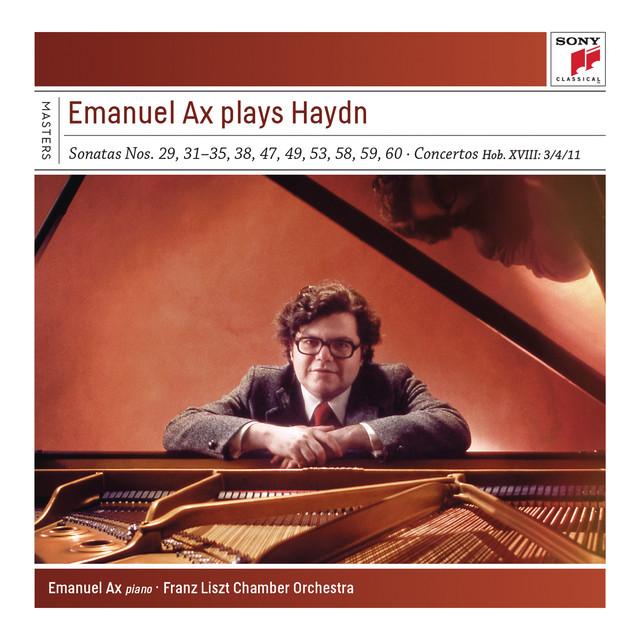 Emanuel Ax Plays Haydn Sonatas and Concertos Albumcover