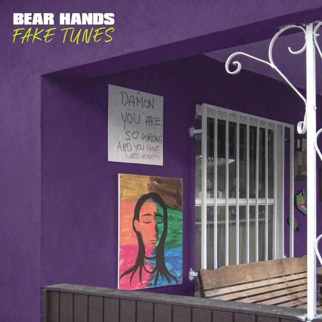 Album cover for Fake Tunes by Bear Hands