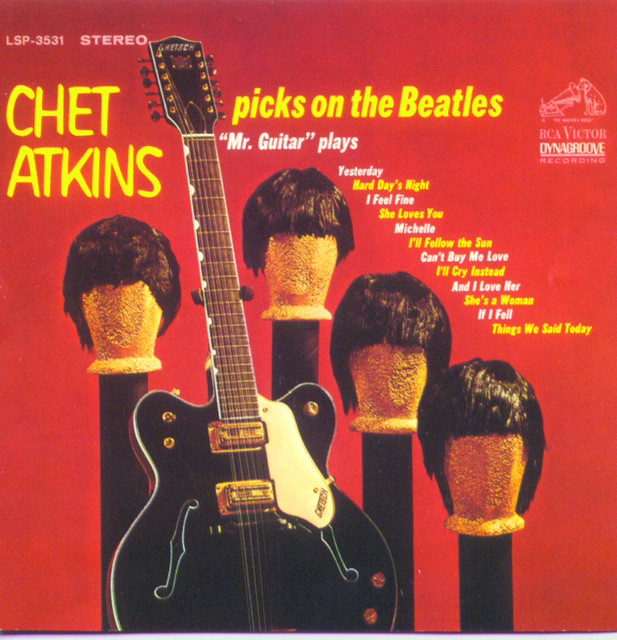 Chet Atkins Picks On The Beatles album cover