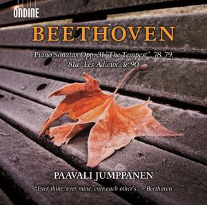 "Beethoven: Piano Sonatas, Opp. 31 ""The Tempest"", 78, 79, 81a ""Les adieux"" & 90 Albümü"