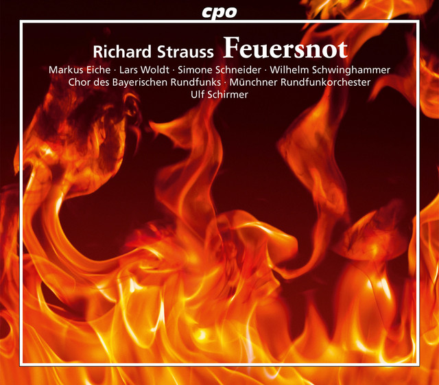 Strauss: Feuersnot, Op. 50, TrV 203 Albumcover