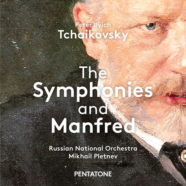 Tchaikovsky: The Symphonies & Manfred Albumcover