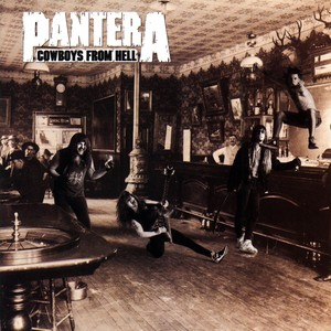 Cowboys From Hell Albumcover