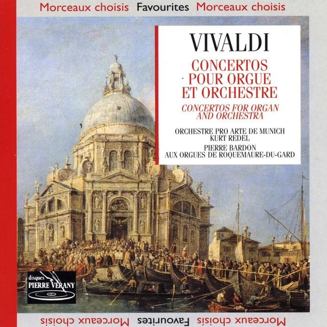 Vivaldi : Concertos pour orgue & orchestre Albumcover
