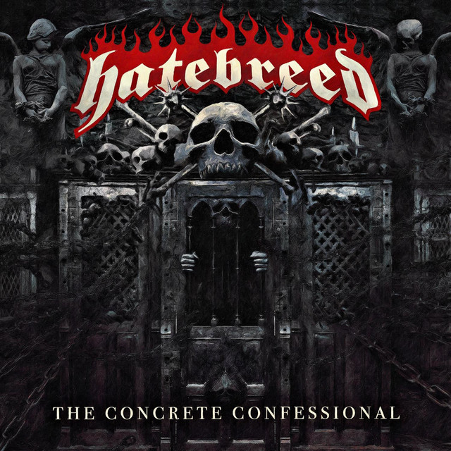 Album cover for The Concrete Confessional by Hatebreed