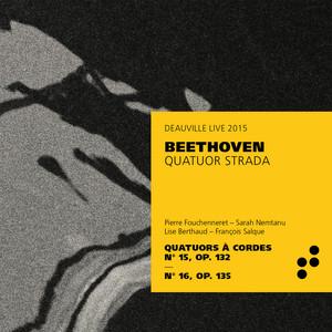 Beethoven: String Quartets Nos. 15 & 16 (Live) Albümü