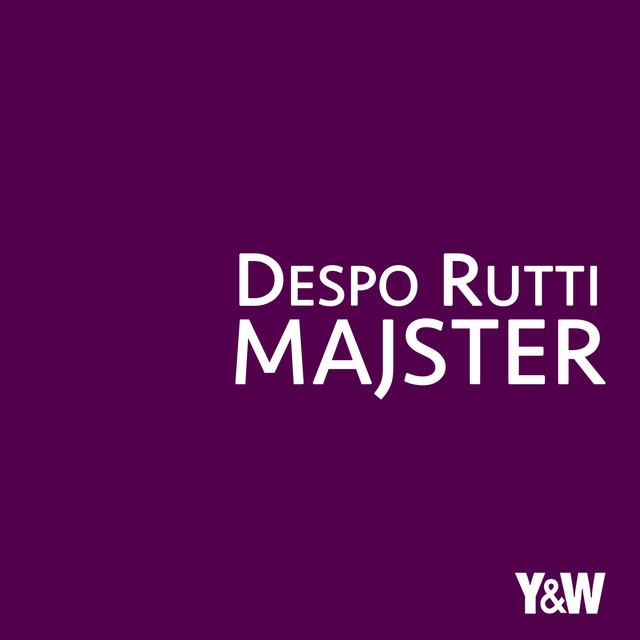Album cover for Majster by Despo Rutti