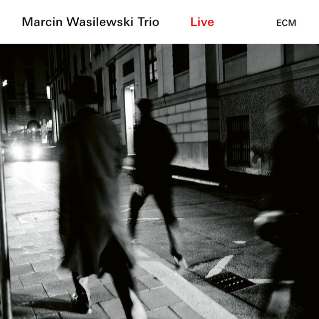 Album cover for Live by Marcin Wasilewski Trio