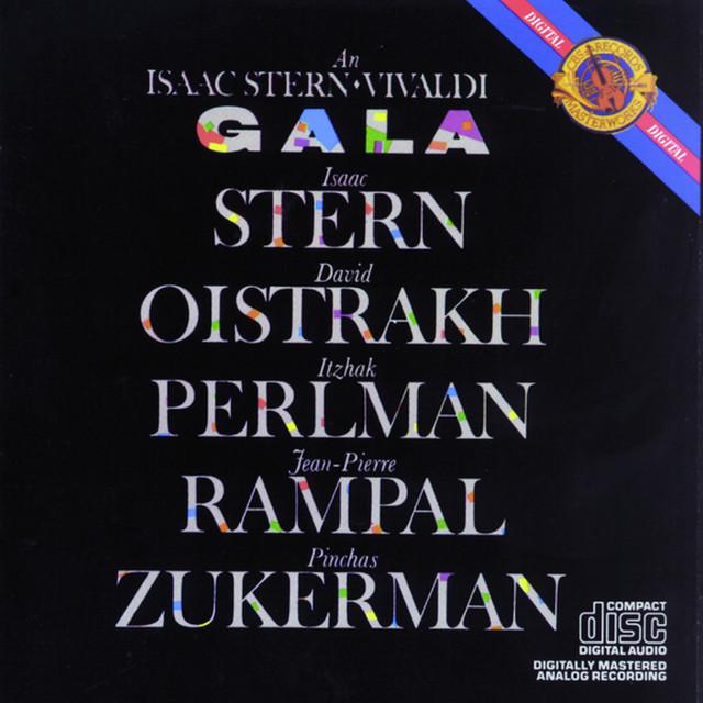 An Isaac Stern Vivaldi Gala Albumcover