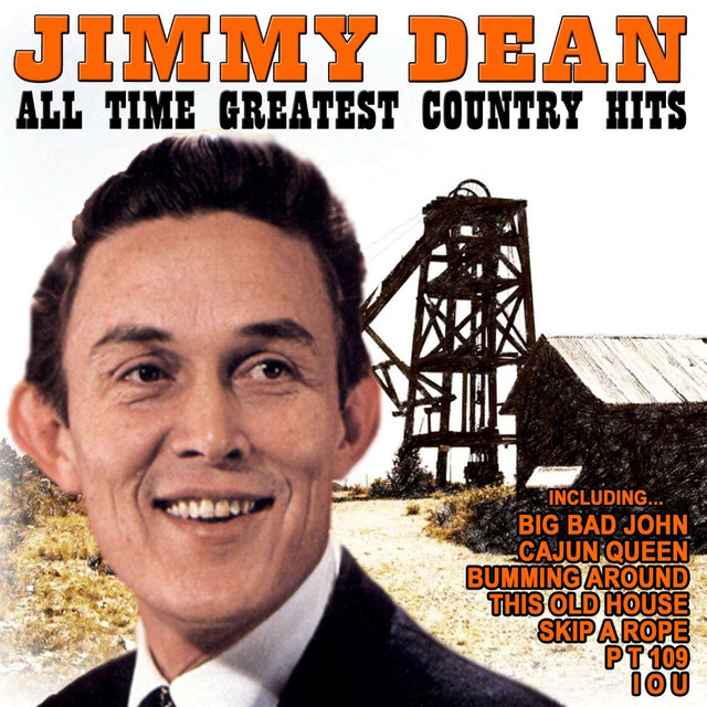 Jimmy Dean All Time Greatest Country Hits album cover