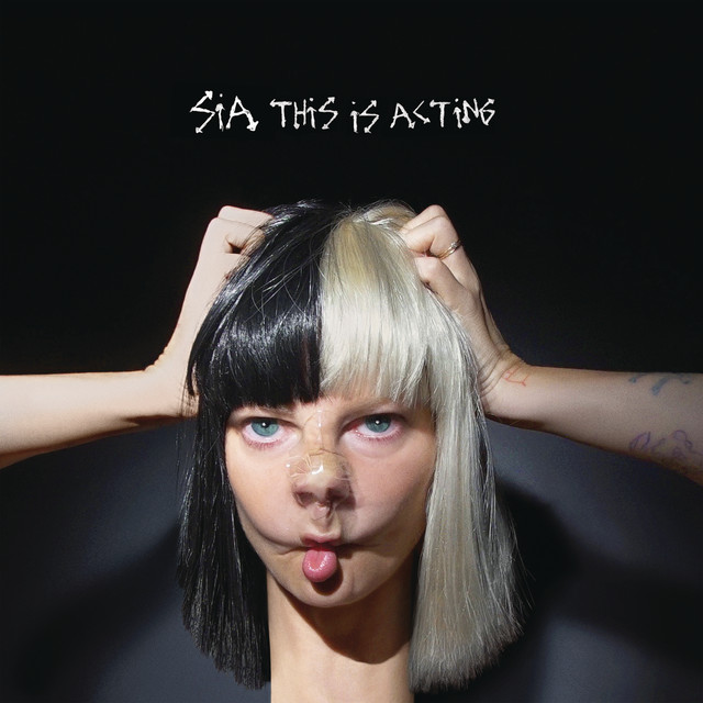 Sia This Is Acting (Japan Version) album cover