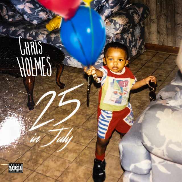 Album cover for 25 in July by Chris Holmes