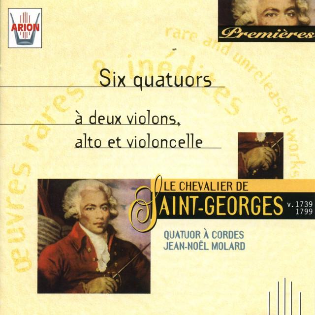 Saint Georges Six Quatuors 2 Violons Alto Violoncelle By