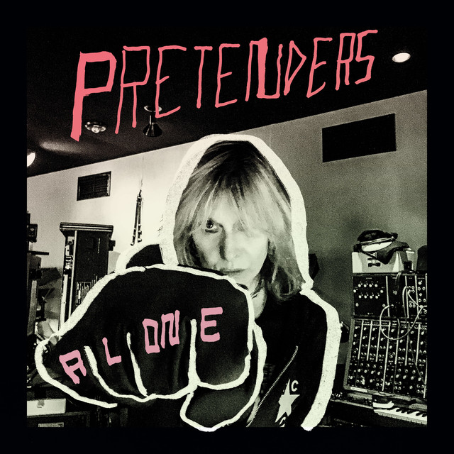 Album cover for Alone by Pretenders