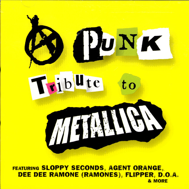 Various Artists A Punk Tribute To Metallica album cover