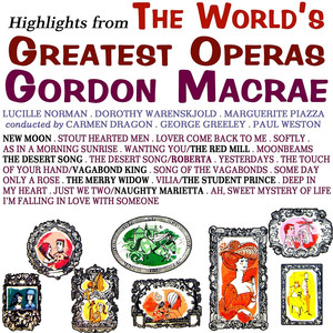 Gordon MacRae, Lucille Norman, Paul Weston & His Orchestra Lover, Come Back to Me cover