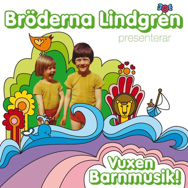 Skivomslag för Bröderna Lindgren: Vuxen Barnmusik