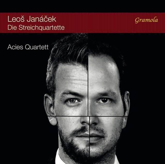 Album cover for Janácek: Die Streichquartette by Leoš Janáček, Acies Quartett