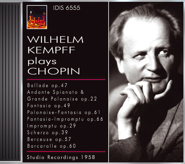 Chopin, F.: Piano Music (Kempff) (1958) Albumcover