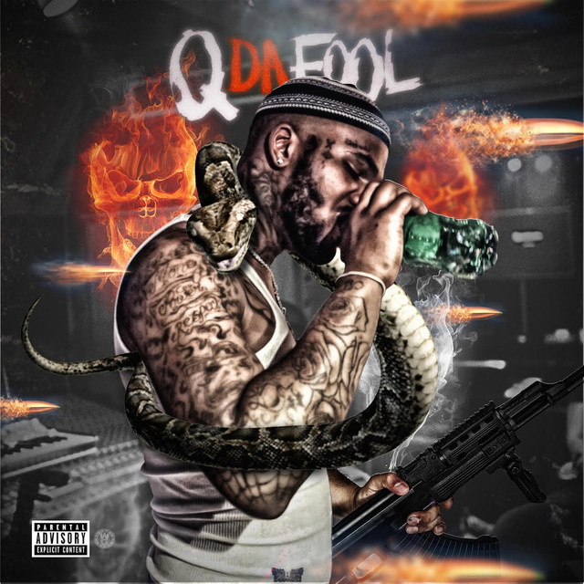 Album cover for No Competition by Q Da Fool