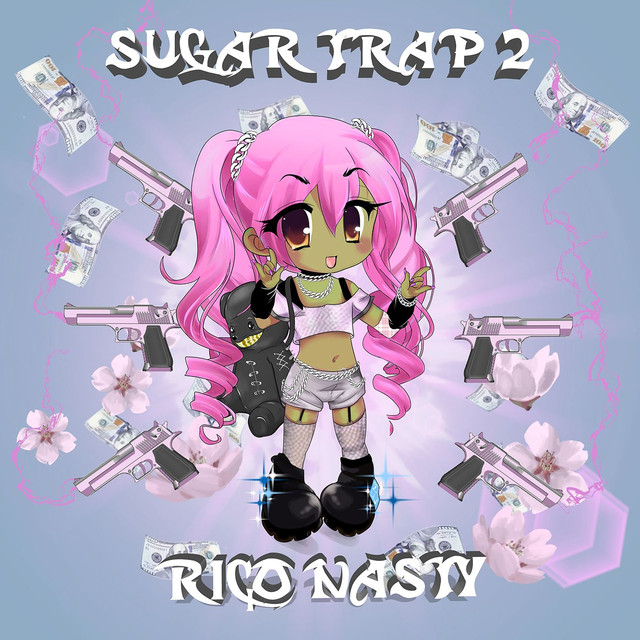 Album cover for Sugar Trap 2 by Rico Nasty