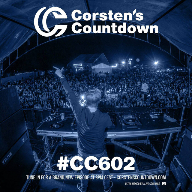 Album cover for Corsten's Countdown 602 by Ferry Corsten
