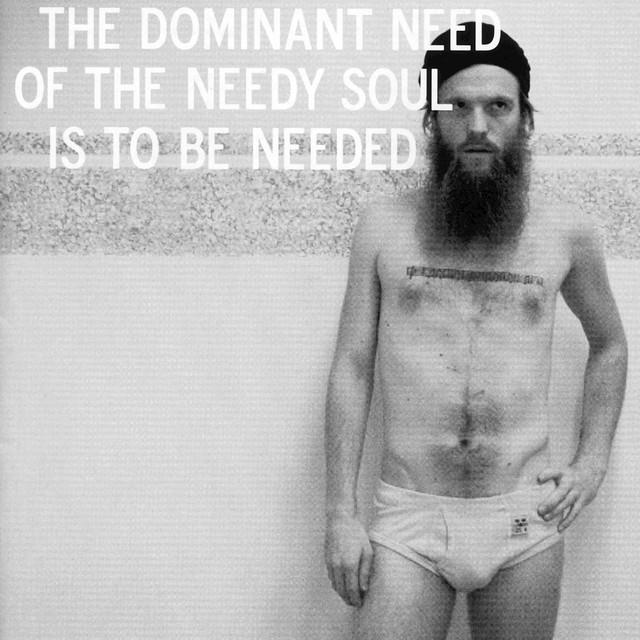 Skivomslag för David Sandström: The Dominant Need Of The Needy Soul Is To Be Needed