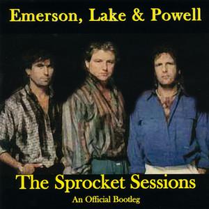 Emerson, Lake & Powell, Greg Lake, Cozy Powell Knife Edge cover