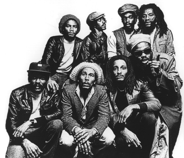 Bob Marley, The Wailers, Bob Marley & The Wailers Rebel's Hop cover