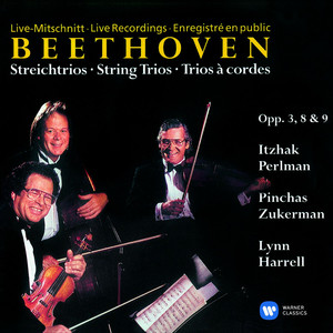 Beethoven: Complete String Trios Albumcover