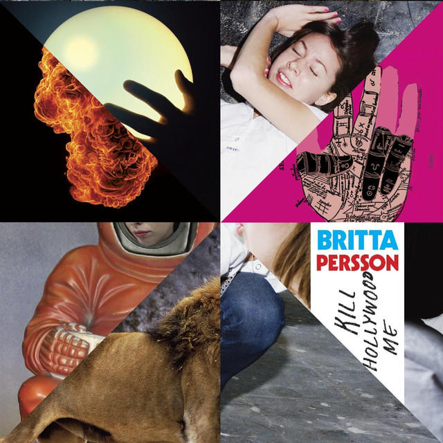 Skivomslag för Britta Persson: Kill Hollywood Me