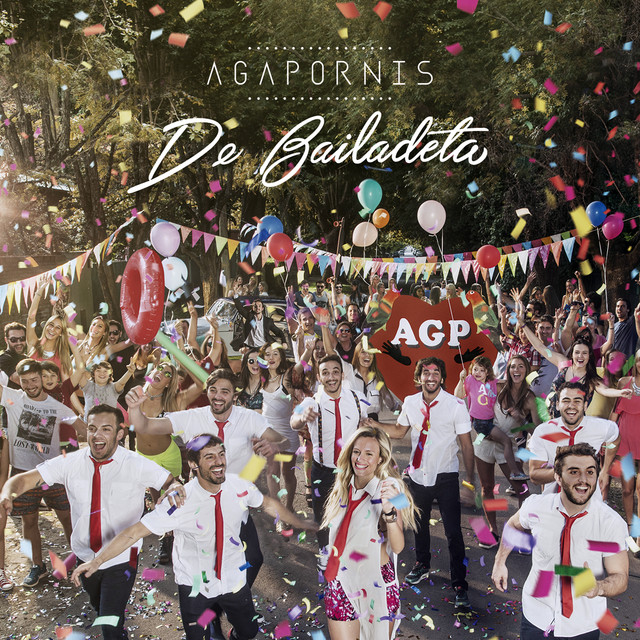 Album cover for De Bailadeta by Agapornis