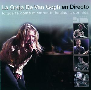 La Oreja De Van Gogh En Directo Albumcover