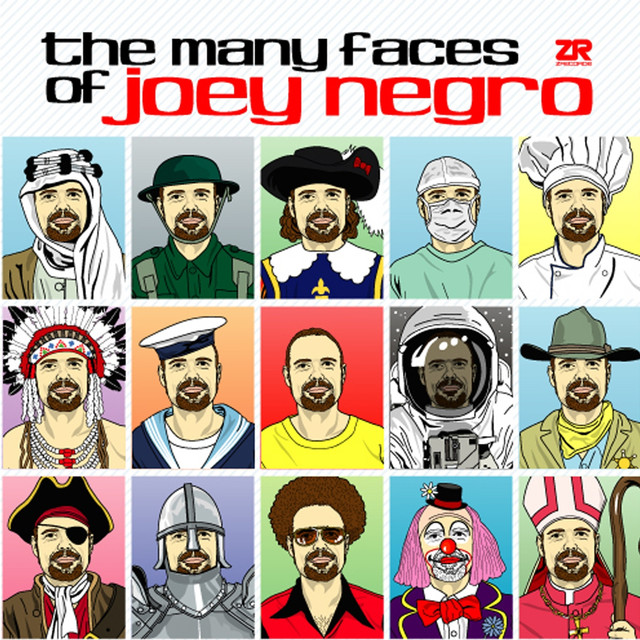 Various Artists The Many Faces of Joey Negro Vol.1 album cover