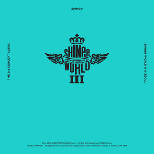 SHINee THE 3rd CONCERT ALBUM <SHINee WORLD Ⅲ in SEOUL> Albumcover