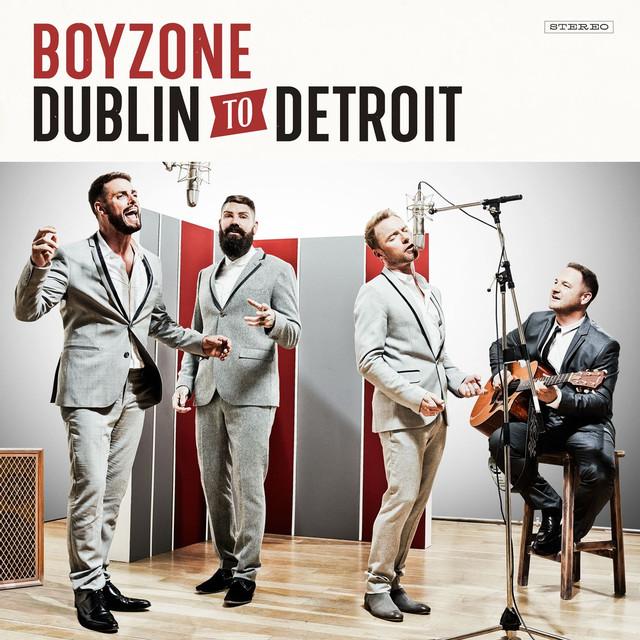 Boyzone Dublin to Detroit album cover