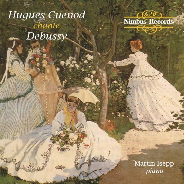 Hugues Cuenod Sings Debussy Albumcover