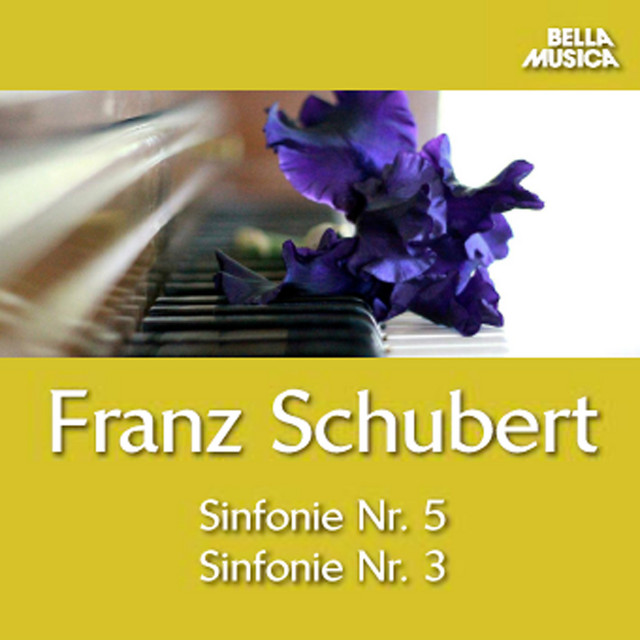 Album cover for Schubert: Sinfonie No. 5, Sinfonie No. 3 und Ouvertüre by Franz Schubert, Virtuosi Di Praga, Romano Gandolfi, Ulrich Backofen