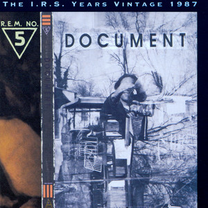 Document (The I.R.S. Years Vintage 1987) album