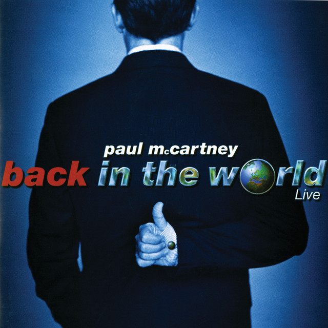 Paul McCartney Back In The World (Live) album cover