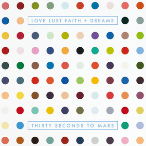 LOVE LUST FAITH + DREAMS Albumcover