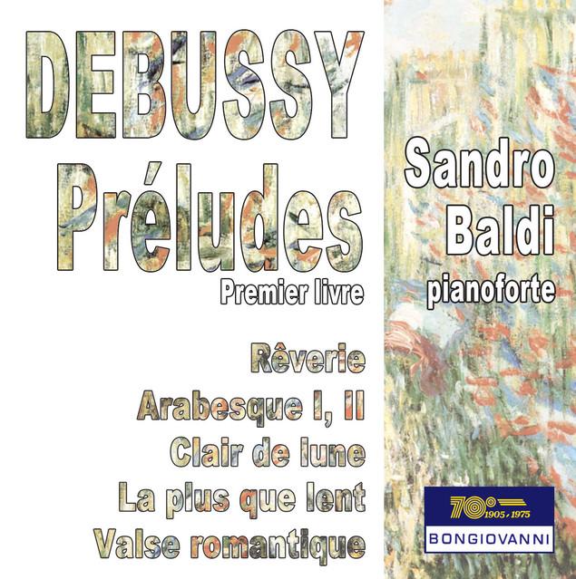 Debussy: Préludes, Book 1, L. 117 Albumcover