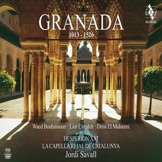 Album cover for Granada Eterna by Jordi Savall