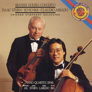 Brahms: Concerto for Violin, Cello and Orchestra in A Minor, Op. 102 & Piano Quartet No. 3 in C Minor, Op. 60 (Remastered) Albumcover
