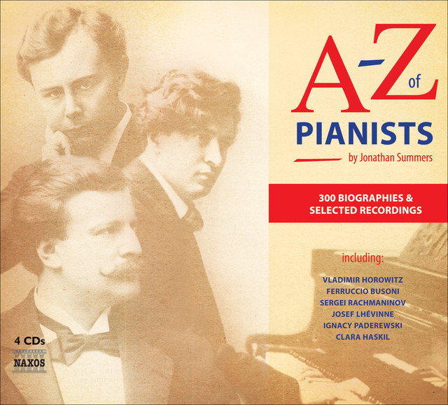 A To Z Of Pianists Albumcover