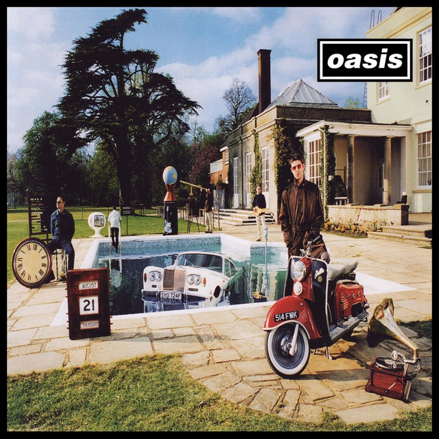 Album cover for Be Here Now (Deluxe Edition) [Remastered] by Oasis