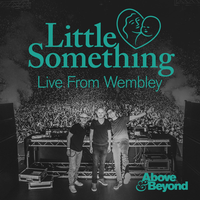 Album cover for Little Something Live from Wembley by Above & Beyond
