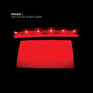 Turn On The Bright Lights Albumcover