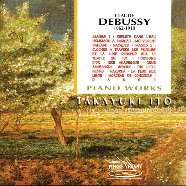 Debussy : Oeuvres pour piano, vol.1 Albumcover